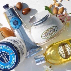 满$70减$20 变相7.1折L'Occitane 欧舒丹护肤产品热卖 收护手霜、杏仁沐浴油