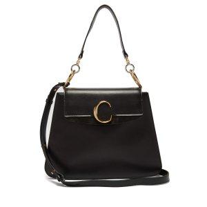 ChloeMedium The C leather shoulder bag | Chloe | MATCHESFASHION.COM US