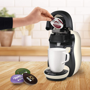 少女心奶白色 仅€29Bosch 胶囊咖啡机Tassimo Vivy2 超过70种饮品在家做