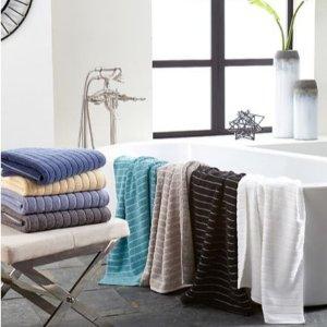 $13 (原价$26) 5折DKNY Brooklyn 超吸水浴巾   多色可选