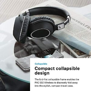 Sennheiser PXC 550 头戴式无线降噪耳机 4.7折特价