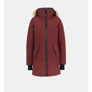 Canada GooseRosemont深红色经典羽绒服
