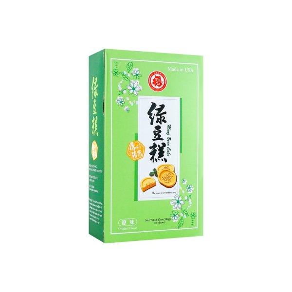五福 绿豆糕 原味 240g
