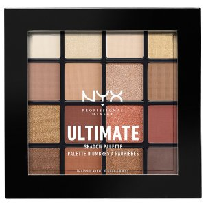NYXUltimate Shadow Palette,Warm Neutrals