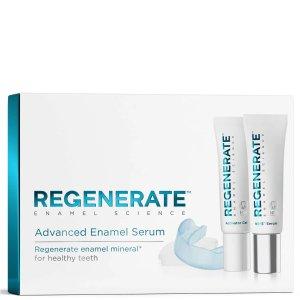 Regenerate修复牙釉质精华+修复牙釉质活性凝胶修复牙釉质美白口腔护理精致套装(2 支 x 16 毫升)
