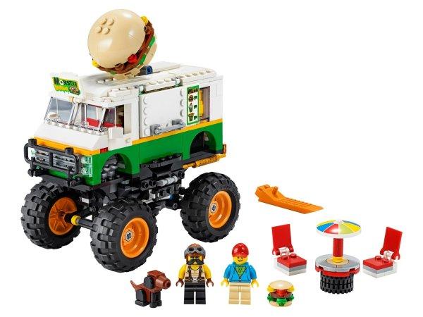 怪兽汉堡卡车 31104   创意百变系列