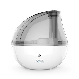 MistAire Silver Ultrasonic Cool Mist Humidifier : Target