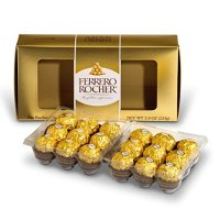 Ferrero Rocher 榛仁巧克力球 18粒装