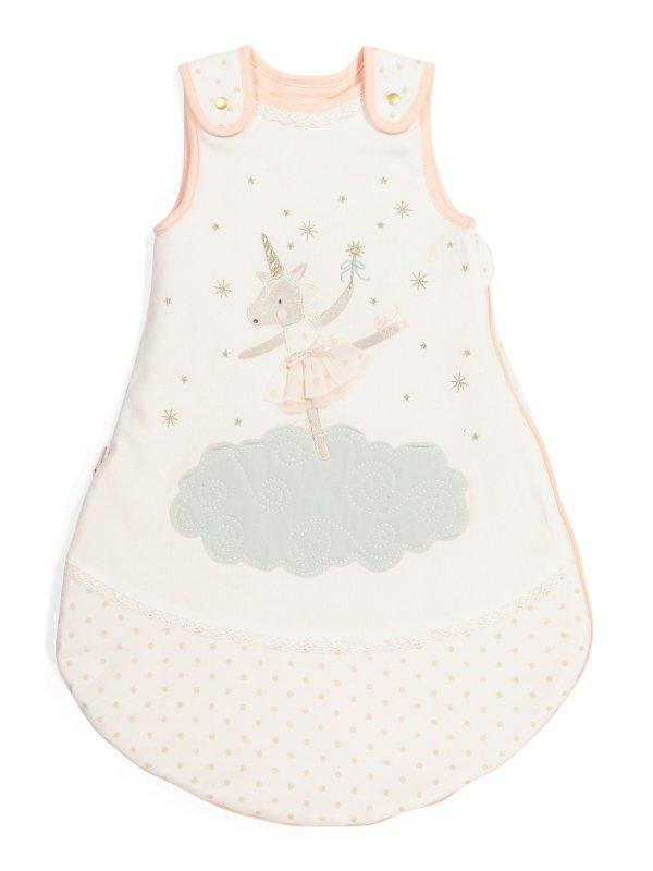 女婴独角兽睡袋
