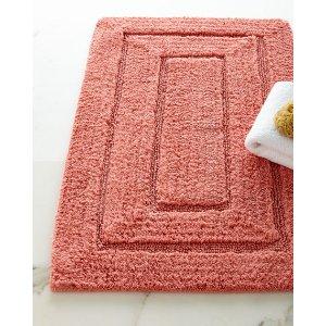 纯棉浴室地垫, 20 x 32