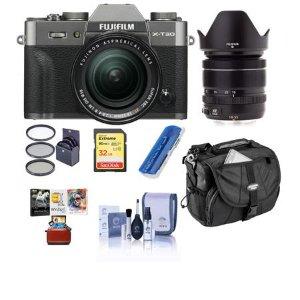 $1199 送配件Fujifilm X-T30 + XF 18-55mm f/2.8-4 镜头套装