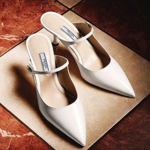 低至5折 收Prada小白鞋$267Italist 美鞋专场 RV、MiuMiu、Burberry经典鞋款超低价热卖