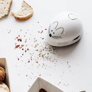 仅$12.99  小礼也讨喜超萌小老鼠 桌面清洁器   快收下这枚小可爱