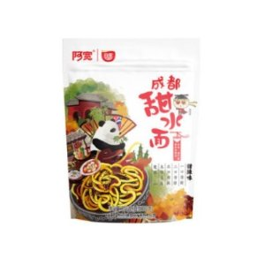 Akuan Chengdu Sweet & Spicy Dry Noodles 270g