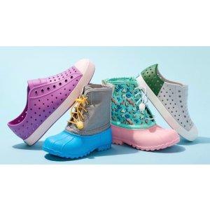 $14.97起Native Shoes 儿童洞洞鞋促销 轻如鸿毛 舒适可穿