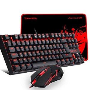 £37.99 (原价£51.99)Redragon K552 红色背光机械键盘+游戏鼠标+鼠标垫套装