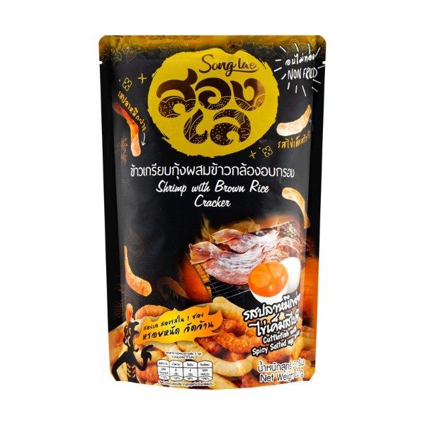 泰国TEICALO吉派 糙米脆 咸蛋黄味 60g