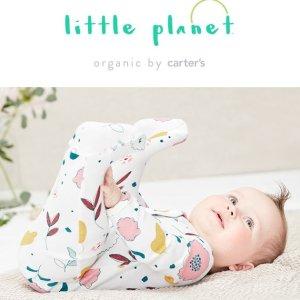 50% Off + Extra 25% Off $40+ & Fun CashCarter's Little Planet Organic