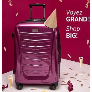3折Samsonite 新秀丽等品牌行李箱特卖   $111.99收新秀丽COMPL-X系列