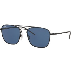 Ray-BanVintage Style Metal Square Sunglasses - Eyedictive