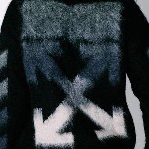 低至5折 箭头T恤€147收Off-White 双箭头经典LOGO款热卖 快收热度超高潮牌