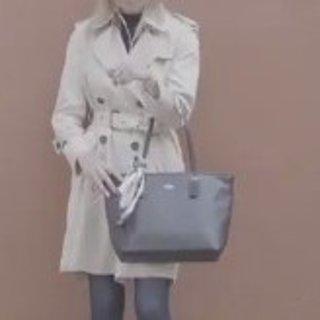 抢券到手¥899COACH 女士牛皮单肩背托特包 黑、玫红2色