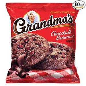 $20.89起 一包仅$0.35Grandma's 巧克力曲奇派对分享装大促