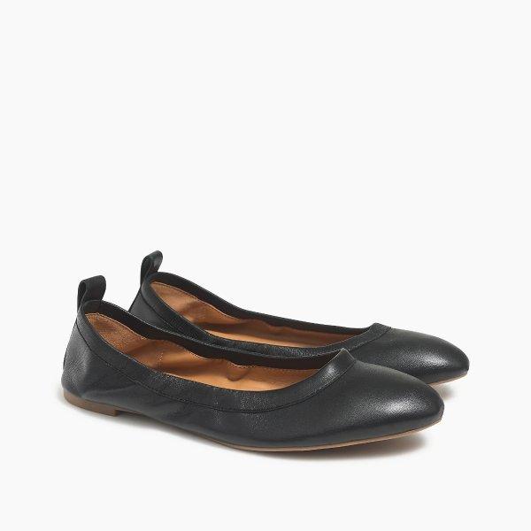 Lizzie 真皮芭蕾鞋