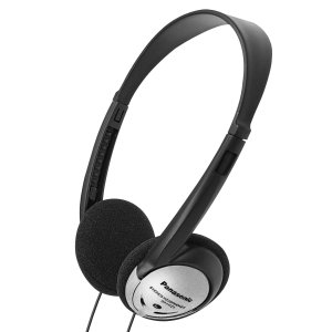 $7.05Panasonic Headphones On-Ear Lightweight with XBS RP-HT21 (Black & Silver)