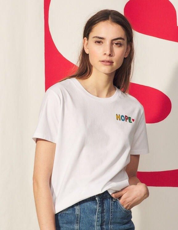 HOPE 白色T恤