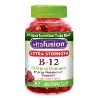 Vitafusion 加强版 维生素B12 软糖 90粒