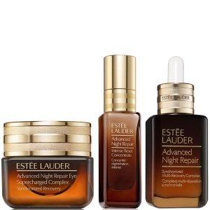 Estee Lauder 总价值超€250第7代小棕瓶3件套