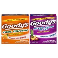 Goody's 强效头疼散 综合口味 2 Pack