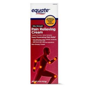 equate Ultra Strength Pain Relief Cream, 4 Oz