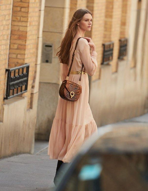 温柔连衣裙
