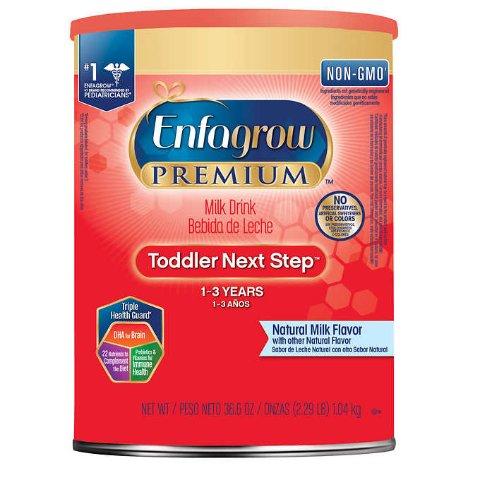 $5 Off + Free ShippingCostco Enfagrow Premium Non-GMO Toddler Next Step Formula Stage 3, 36.6 oz