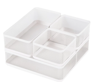 Mesh Desk Organizer White - Made By Design™ : Target