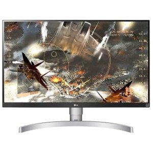 """$376.99 支持FreeSyncLG 27UL650-W 27"""" 4K IPS DisplayHDR 400 显示器"""