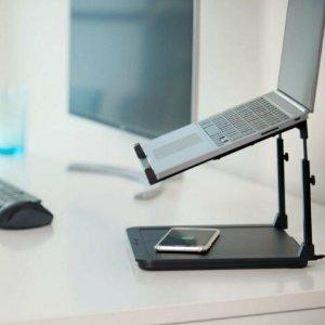 $99.96 (原价$140) 人体工学设计Kensington SmartFit 电脑支架+无线充电板 学习工作你都需要它
