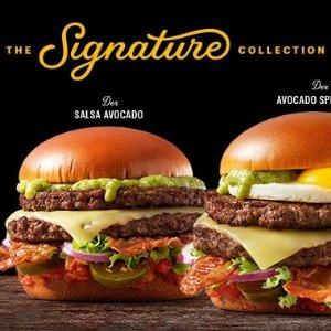 多重美味一次满足麦当劳新品 Signature极选系列汉堡 满足顶级饕客味蕾