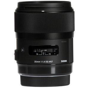 SigmaSigma 35mm f/1.4 DG HSM Art Lens Sony E