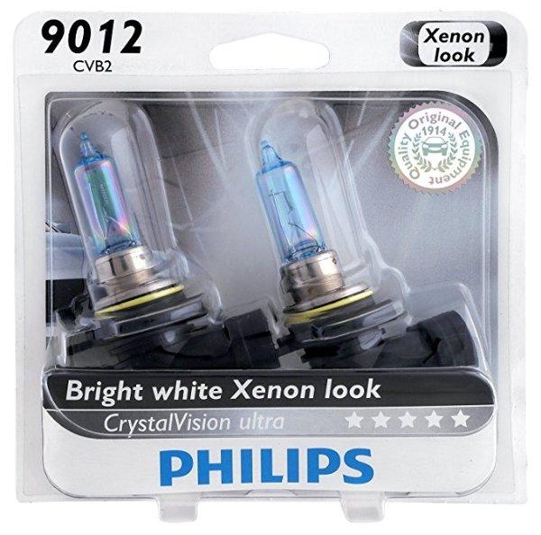 9012CVB2 CrystalVision Ultra 升级灯泡 2只装