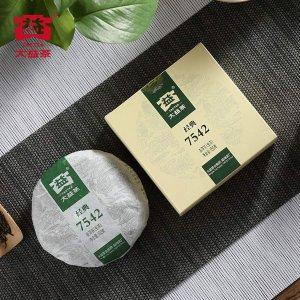 TAETEA 7542 Classic Raw Pu-erh Tea Cake