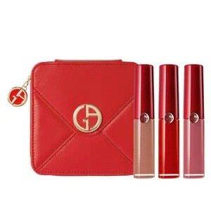 红管唇釉3件套