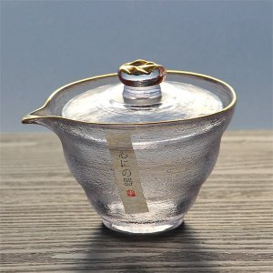 Frosted Glass Covered Bowl from Apollo Box