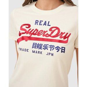 SuperdryVl Duo Satin Entry短袖