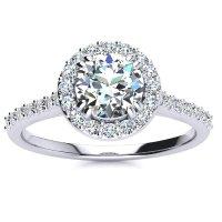 SuperJeweler 1克拉钻石戒指