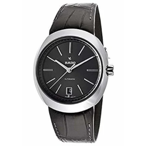 Dealmoon Exclusive:Rado D-Star 39mm Automatic Ceramic Leather Strap Men's Watch