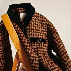 5折起 收热门封面款Sandro 浪漫法风专场 连衣裙、针织开衫、大衣等爆款