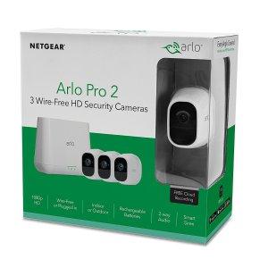 Arlo Pro 2 无线安防监控系统 3个摄像头套装